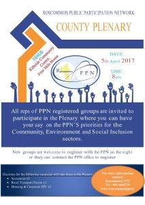 Plenary April 2017